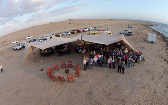 Beach catering in Swakopmund