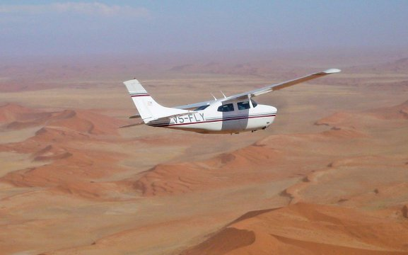 Bush Bird Scenic Flights from Swakopmund