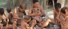 Fiume Lodge Bushmen Excursions