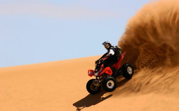 Swakopmund activities quad bike tours