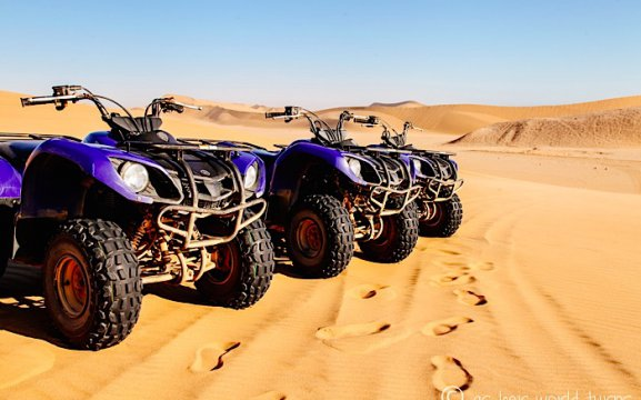 Desert Explorers - quad bike rides in Swakopmund