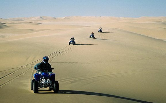 Desert Explorers - guided quad bike rides in the Namib Desert