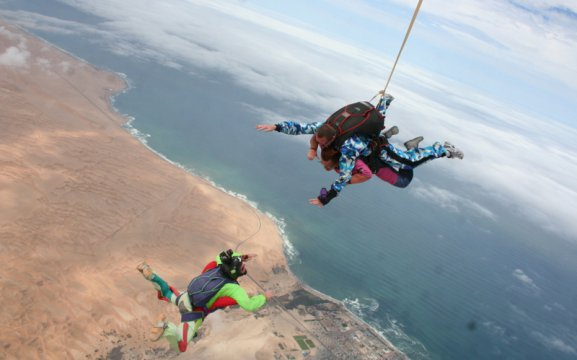 Activities in Swakopmund - Skydiving