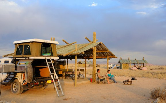 Sossus Oasis Camp Site