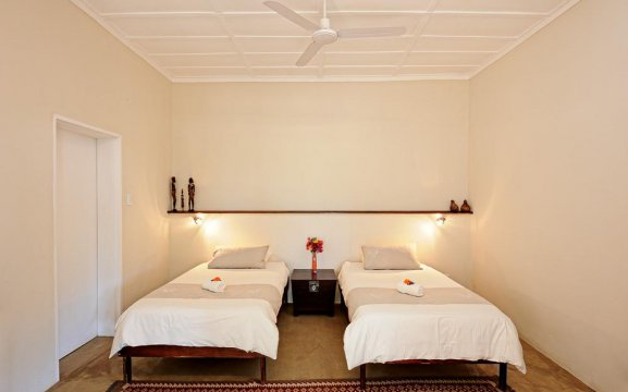 Waterberg Namibia accommodation with twin beds