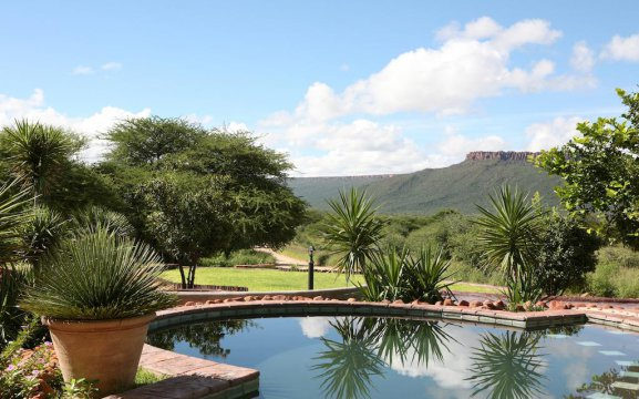Accommodation in the Waterberg area with swimming pool