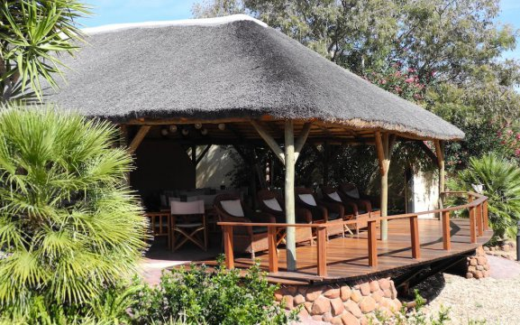 Waterberg Guest Farm with outdoor lapa
