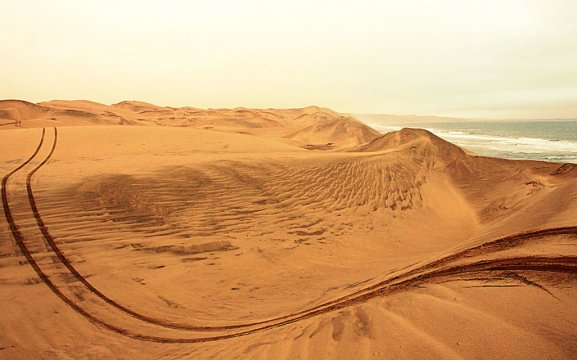 Dunes safari Sandwich Harbour Namibia