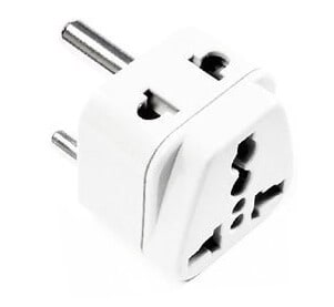 Type-D power adapter for Namibia