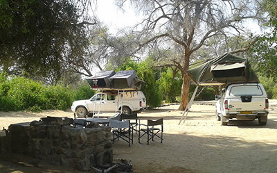 Brandberg White Lady Lodge - Camping