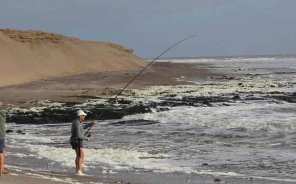 Surf Fishing Namibia