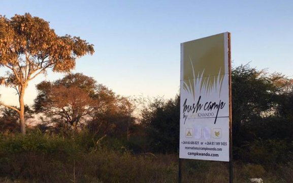 Bush Camp by Camp Kwando
