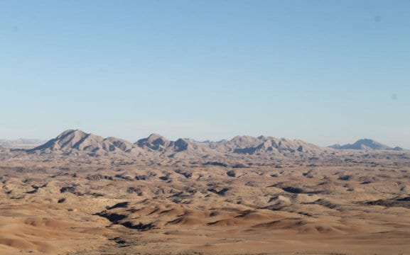 Namib Valley Landscape