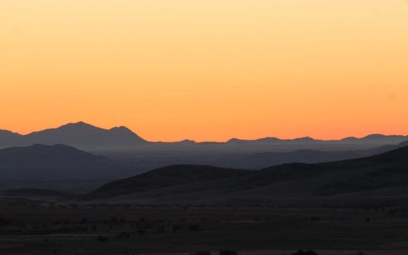 Namib Valley Sunset